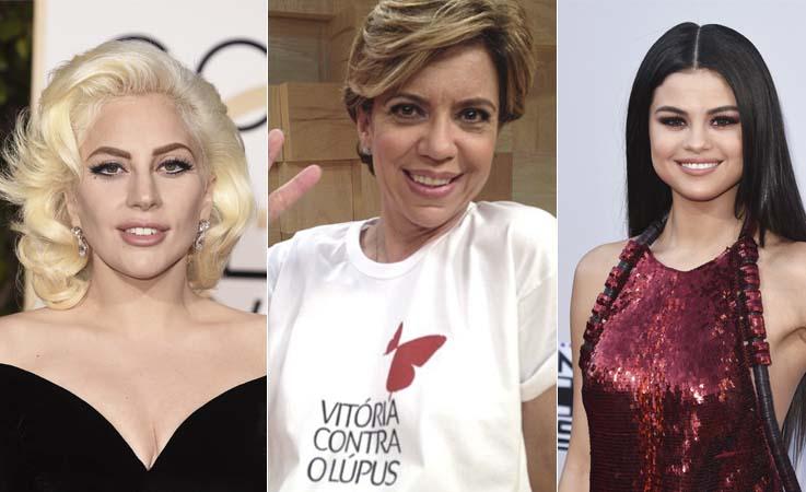 Celebridades como Lady Gaga, Astrid Fontenelle e Selena Gomez admitem ter Lupus e lutam contra a doença