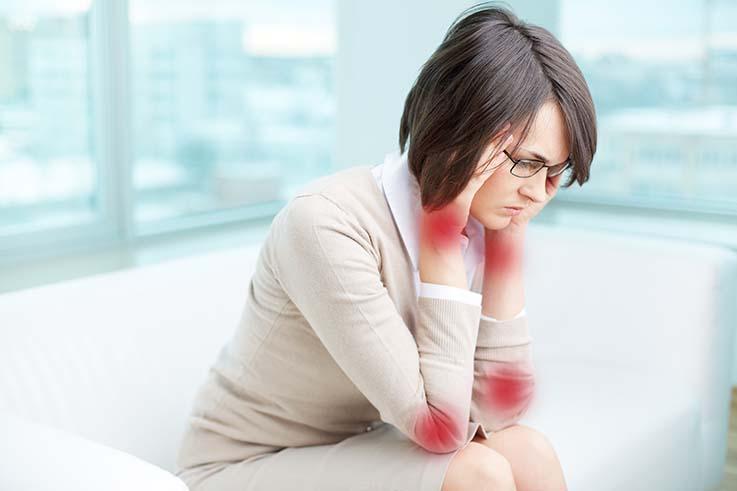 A pessoa que possui Lúpus passa a ter dor especialmente nas articulações