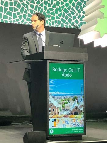 Dr. RODRIGO CALIL, ortopedista especialista em joelho do Instituto Abathon, participou do 19th EFORT CONGRESS 2018, na cidade de Barcelona.